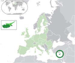 θέση της Κύπρου