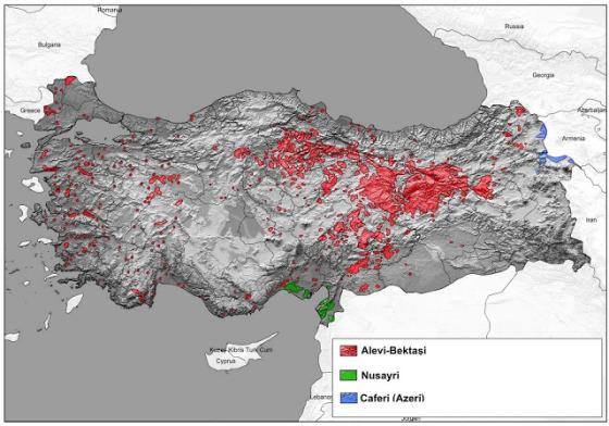 Αλεβίτες στην Τουρκία