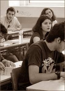 μαθητές στην τάξη