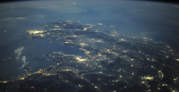 Ελλάδα δορυφορικά